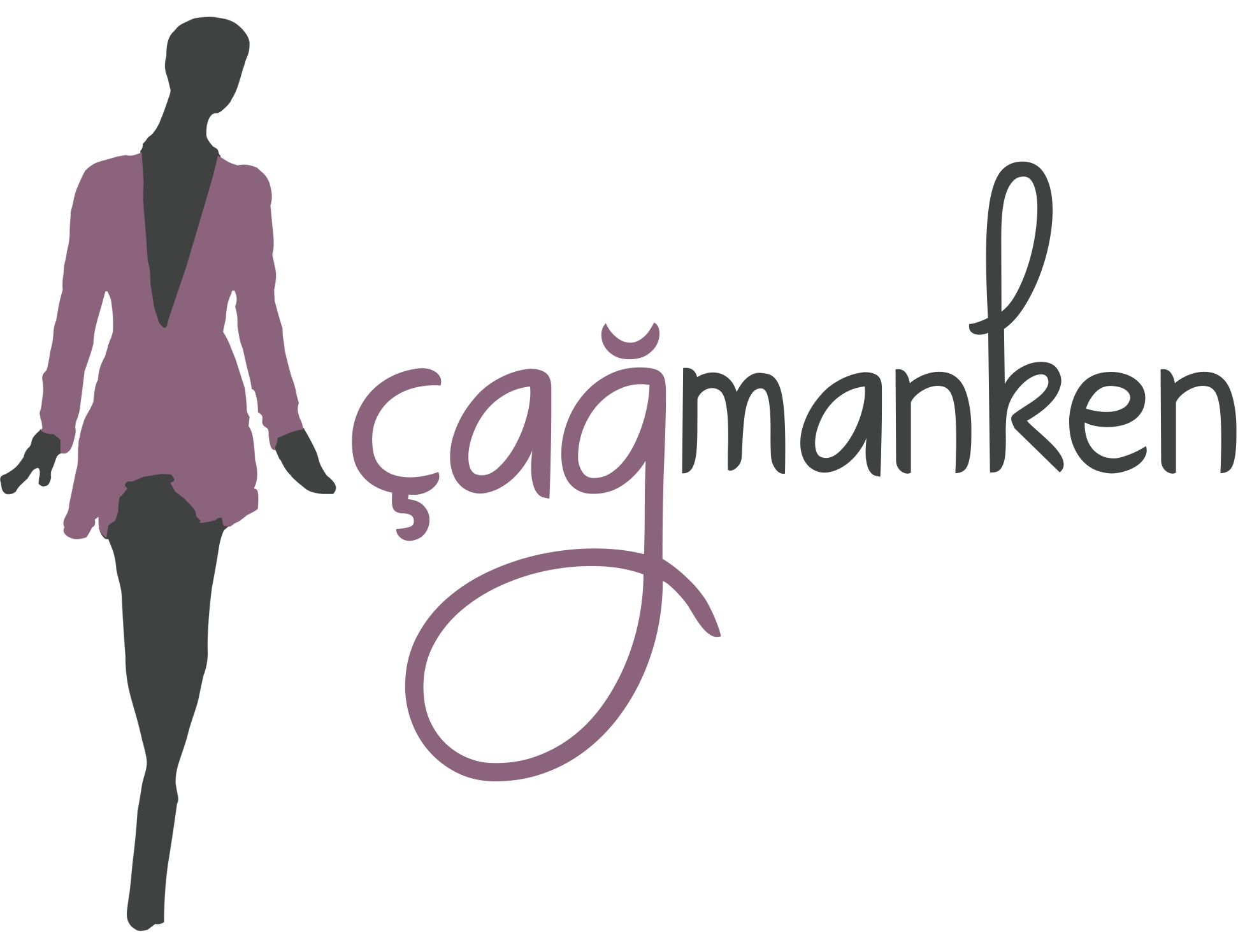 Çağ manken logo